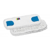 Karpyta kilpinė šluostė grindims, 500x160 mm, balta, TTS