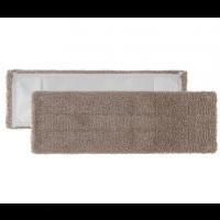 Mikropluošto šluostė grindims, 400x130 mm, ruda, TTS