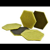 Dvipusis šveitimo padukas, Scotch-Brite™, 127x147 mm, geltonas, žalias, 3M™