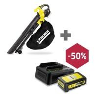 Akumuliatorinis lapų pūstuvas BLV 18- 200 Battery+ Akumuliatoriaus komplektas su 50% nuolaida, Kärcher