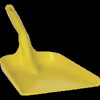 Rankinis kastuvas, 327x271x50 mm, 550 mm, geltonas, Vikan