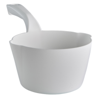 Semtuvėlis apvalus 1l, 295x155x95 mm, baltas, Vikan