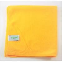 Mikropluošto šluostė Handy, 380x380 mm, geltona, Green-Tex