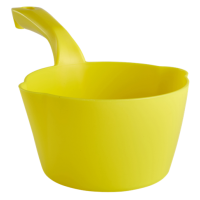 Semtuvėlis apvalus 1l, 295x155x95 mm, geltonas, Vikan