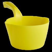 Semtuvėlis apvalus 2l, 330x195x115 mm, geltonas, Vikan