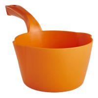 Semtuvėlis apvalus 1l, 295x155x95 mm, oranžinis, Vikan