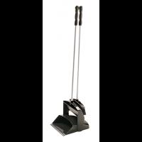 Semtuvėlis su šluotele metaliniu kotu, 260x250x1000 mm, juodas, Haug Bürsten