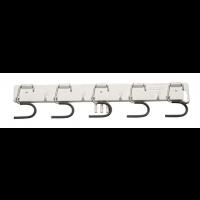 Laikiklis kotams, 440x50 mm, pilkas, Haug Bürsten