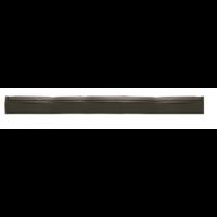 Guma nubrauktuvui, Haug Bürsten, 620x40x20 mm, juoda