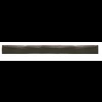 Guma nubrauktuvui, Haug Bürsten, 420x40x20 mm, juoda