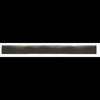 Guma nubrauktuvui, Haug Bürsten, 700x40x20 mm, juoda