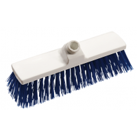 Šepetys grindims, Haug Bürsten, 300x140x70 mm, baltas, mėlynas