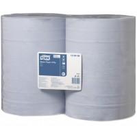 Tork Basic 2 sluoksnių popierius, mėlynas,  W1, Tork