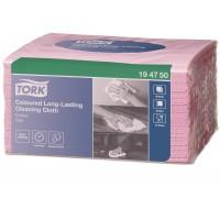 Tork valymo šluostės, rožinės,  W8, Tork
