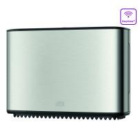 Tork Mini Jumbo tualetinio popieriaus ritinių dozatorius, nerūdijančio plieno, T2, Tork
