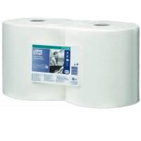 Tork ypač atsparus šluostymo popierius, baltas, W1,W2 Tork