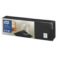 Tork LinStyle® juodos spalvos servetėlės, 150 vnt., Tork