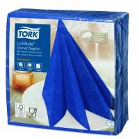 Tork LinStyle® mėlynos spalvos servetėlės,  50 vnt., Tork