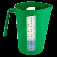 Matavimo indas, 2 l, žalias, Vikan