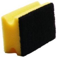 Kempinė, 150x70x45 mm, geltona/juoda, Meiko