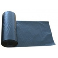 Šiukšlių maišai, stori, juodi, 350 L, 5 vnt.