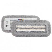 "Siūlinė šluostė grindims ""Tuft Tris"", 400x130 mm,  balta, pilka,TTS"