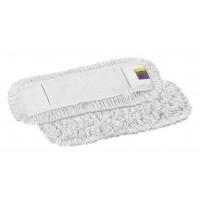 Kilpinė šluostė grindims, 400x130 mm, balta, TTS