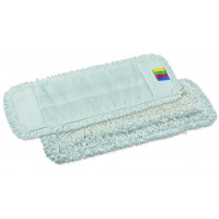 Kilpinė mikropluošto šluostė grindims, 400x130 mm, balta, TTS