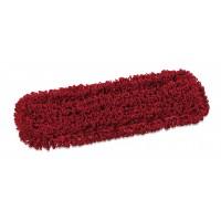 Kilpinė mikropluošto šluostė grindims, TTS, 400x130 mm, raudona