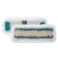 Kilpinė mikropluošto šluostė grindims, TTS, 400x130 mm, balta, mėlyna