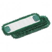 Kilpinė mikropluošto šluostė grindims, 400x130 mm, žalia, TTS