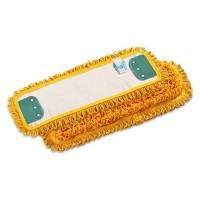 Kilpinė mikropluošto šluostė grindims, 400x130 mm, geltona, TTS