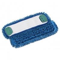 Kilpinė mikropluošto šluostė grindims, 400x130 mm, mėlyna, TTS