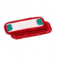 Kilpinė mikropluošto šluostė grindims, 400x130 mm, raudona, TTS