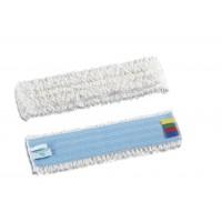Kilpinė mikropluošto šluostė grindims Velcro, 400x120 mm,  balta, TTS