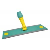 Laikiklis šluostėms Velcro, TTS, 400x95 mm, žalias, geltonas