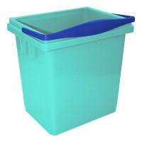 Kibiras 4 l, žalias, mėlynas, TTS