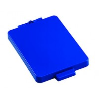 Dangtis 70 l šiukšlių maišų laikikliui, 350x230 mm, mėlynas, TTS