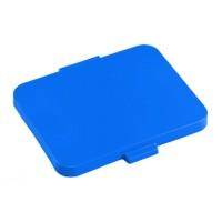 Dangtis 120 l šiukšlių maišų laikikliui, 460x350 mm, mėlynas, TTS