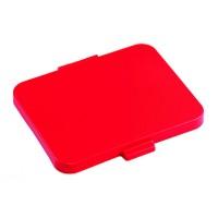 Dangtis šiukšlių maišų laikikliui, raudonas, TTS