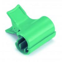 Segtukas šiukšlių maišui, 45x40 mm, žalias, TTS