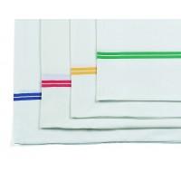 Maišas skalbiniams, 550x1010 mm, baltas, žalias, TTS