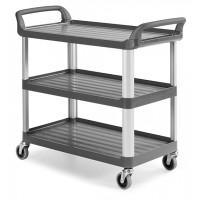 Vežimėlis virtuvėms, TTS, 1110x500x980 mm, pilkas
