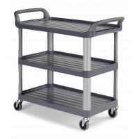 Vežimėlis virtuvėms, 1110x500x980 mm, pilkas, TTS