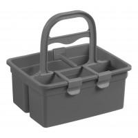 Krepšelis priemonėms, TTS, 330x280 mm, pilkas