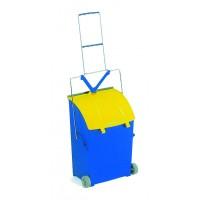 Semtuvėlis su ratukais, TTS, 230x940 mm, mėlynas, geltonas