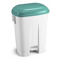 Šiukšlių dėžė Derby, TTS, 360x500x680 mm, 60 l, balta, žalia