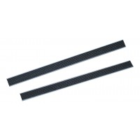 Velcro juostelė, 522 mm, juoda, TTS
