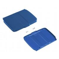 Dangtis su dėžute šiukšlių maišo laikikliui, mėlynas, TTS