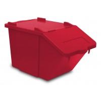 Atliekų rūšiavimo dėžė Split, TTS, 510x300x315 mm, 45 l, raudona